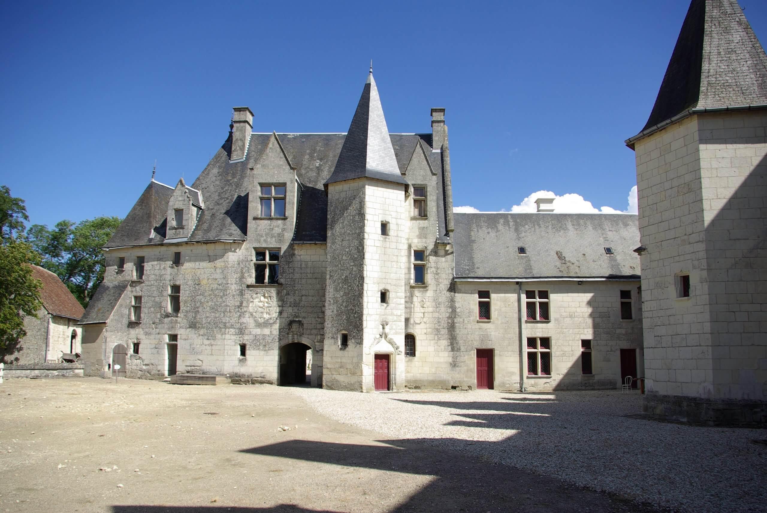 Façade du Château Palluau Frontenac